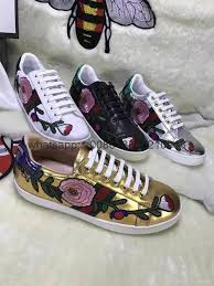 gucci 2017 shoes. 2017 gucci tennis shoes women sneakers embroidery e