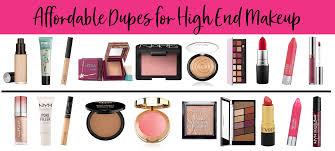 best dupes for high end make up