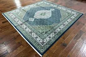 square rugs 10x10 area rug exotic x design navy blue wool silk lovely ideas