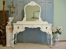 antique makeup vanity set. antique white distressed bedroom furniture terrific set dining table at makeup vanity a