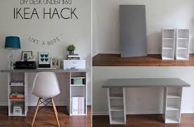 modern furniture diy. Impressive Furniture Inspiring White And Grey Diy Set Up Small Space Desk With For Modern