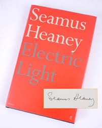 Electric Light Seamus Heaney Heaney Seamus Electric Light Signed First Edition At