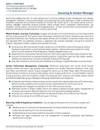 Management Resume Examples Awesome Resume Examples Vendor Management In 60 Resume Examples