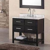 bathroom vanities 36 inch. Ondon Dark Espresso 36 Inch Single Bathroom Vanity Vanities R