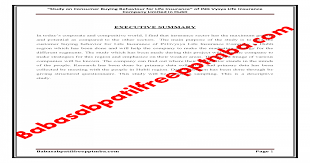 The applicant can check your policy. A Project Report On Consumer Buying Behaviour For Life Insurance Of Ing Vysya Life Insurance Company Pdf Document