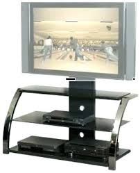 3 shelf glass tv stand ml flat panel with mount in 1 design promounts