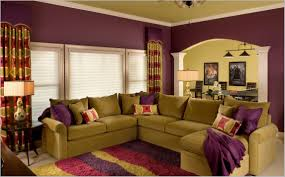 Purple Living Room Decor Wall Color Combination With Purple Bedroom Inspiration Database
