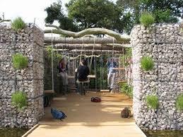 Small Picture gabion wall design ideas kids playground garden decorating ideas