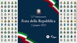 Comune di Augusta - 75° Anniversario della Festa della Repubblica - 2  giugno 2021