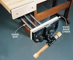 Woodworking Bench Vise  WoodworkingideashereTypes Of Bench Vises