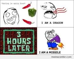 Spicy Food Memes. Best Collection of Funny Spicy Food Pictures via Relatably.com