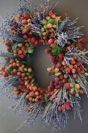 wreaths front door outdoor