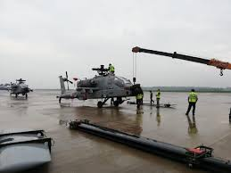 First Boeing Ah 64e Apache Helicopters Arrived In India Defence Blog
