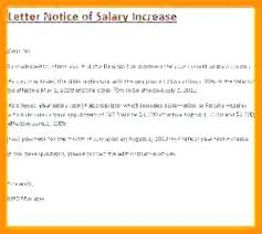 letter format for salary increment salary increase letter template from employer to employee pay 6 s