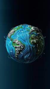 Planet Earth Abstract Wallpapers - Top ...