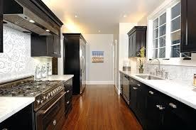 galley kitchen cabinets galley kitchen design ideas nz
