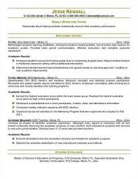 Tutor Resume Classy Here Are Free Sample Tutor Resumes From Sites Around The Web