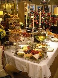 Food Tablescapes - Tablescapes - Food Display - Food Presentation - Buffet  - Food Serving - Feng Shui Your Events