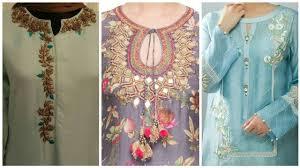 Pakistani Shirts Gala Designs Beautiful And Latest Neck Designs For Girls 2019 Top 60