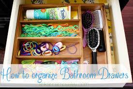 Organizing Drawers Custom How To Organize Bathroom Drawers Ask Anna