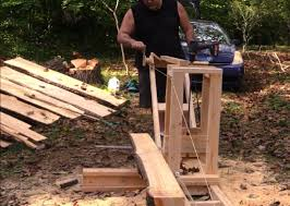 chainsaw mills allow folks to convert timber into lumber using a tool most often used for crude freehand cutting a chainsaw if you are a hands on kind