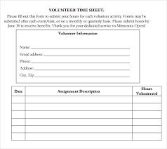 volunteer template volunteer sheet template rome fontanacountryinn com