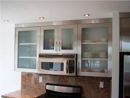White Glass Kitchen Cabinets Kitchen Enchanting White Tile Backsplash With Solid Wood Kitchen
