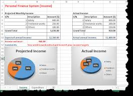 personal finance excel how to create budget in excel spreadsheet with template