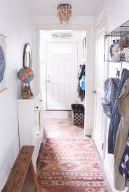 organizing a small entry a hall makeover a townhouse update