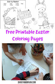 With these easter color by numbers you can too! Color By Number Easter Basket Printable