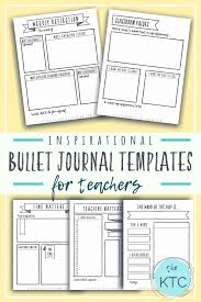 Journal Templates Free Bullet Journal Templates For Home Educators