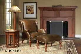 classic furniture charlottesville. Stickley Waterville Wing Chair And Ottoman Inside Classic Furniture Charlottesville