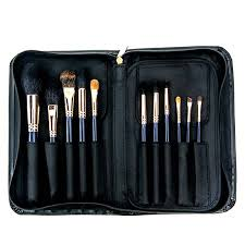 callanberry 12 piece brush set in callanberry pouch natural hair