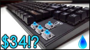 $34 <b>Waterproof Mechanical Keyboard</b>! - YouTube