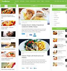 20 Recipe Wordpress Themes Templates Free Premium Templates
