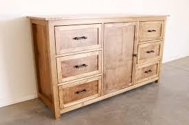 diy rustic dresser w free building plans