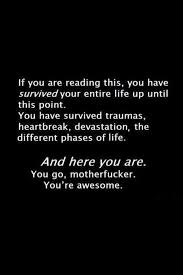 Survival Quotes Fascinating You're Awesome Quotes A Day