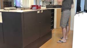 Removing Kitchen Cabinets Removing Kitchen Island Base Timelapse Youtube