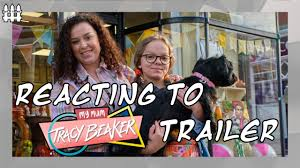 My mum tracy beaker will also see original show regulars lisa coleman, who plays tracy's foster mum cam, montanna thompson, who plays tracy's nemesis justine littlewood, and ruth gemmell, who plays tracy's estranged mother carly beaker. Reacting To My Mum Tracy Beaker Trailer Youtube