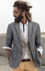 Hair And Beard Styles, <b>Long</b> Hair Styles, <b>Bohemian</b> Outfit Men, Men ...