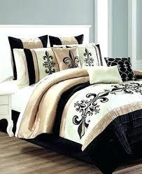 Bedroom Set Brown And Cream Comforter Bedding Sets Fantasy King Bed ...
