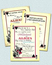 Wedding Card Template Fascinating Alice In Wonderland Wedding Invitation Template Combined With In