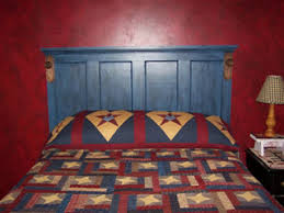 clydene made this old door into a headboard she tells the story of this door