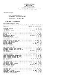 golf 92 wiring diagrams (eng) 1982 vw rabbit fuse box diagram wiring diagrams article text 1992 volkswagen gti for volkswagen technical site copyright © 1998 mitchell repair