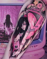 уникальные татуировки брандо кьезы сочетающие в себе аниме и