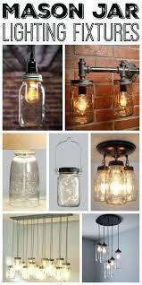 rustic chandeliers beautiful like mason jar lighting fixtures for your home diy light