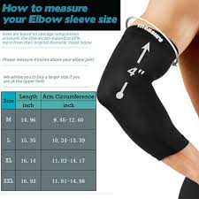 Details About Cfr Elbow Support Brace Compression Arm Long Sleeve Wrap Fit Outdoor Sports