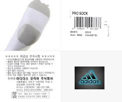 Adidas Socks Size Chart 4042 Details About Adidas Men Pro Soccer Stocking Pairs Socks White Red Football Knee Sock Bs2874