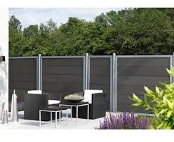 White 90x300 cm Festnight <b>Double</b>-<b>Sided Garden Fence PVC</b> ...