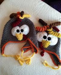 Crochet Turkey Hat Pattern